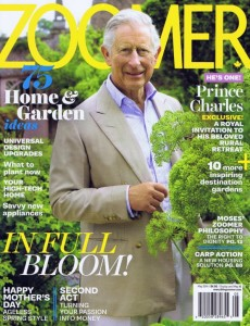 Cover of ZOOMER's May 2014 Issue